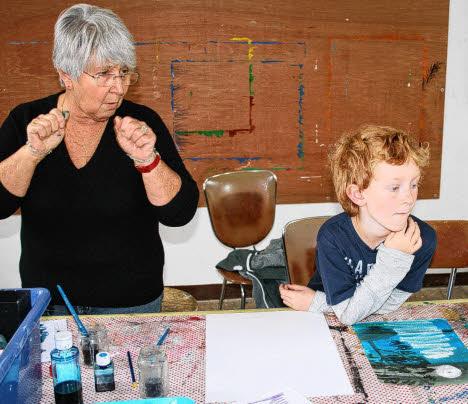 Atelier dessin et peinture, le mercredi pour les enfants