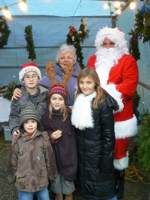 Le Père Noël s'invite au bourg…